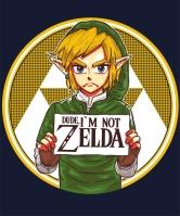 Link not Zelda