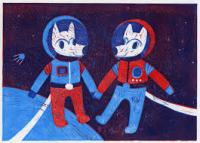 wolves in space - thumbnail